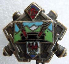 Insigne boutonnière 1939 ARTILLERIE 157° RAP  FORTERESSE MAGINOT ORIGINAL WWII