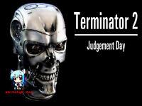 Movie Terminator T-800 Head 1/1 Figure Vinyl Model Kit  11inch