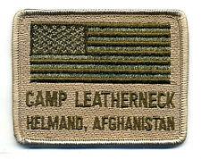 NATO ISAF JSOC USMC WAR TROPHY νeΙcrο SSI: CAMP LEATHERNECK HELMAND AFGHANISTAN