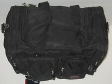 15 INCH BLACK TRAVEL, GYM, TOTE, GEAR BAG