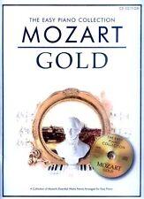 Mozart Gold The Easy Piano Collection Noten für Klavier mit CD leicht-mittel
