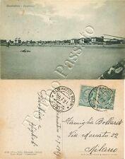 Cartolina di Cesenatico, panorama - Forlì Cesena, 1929