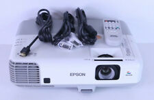 Epson PowerLite 905 LCD Projector H387A HDMI Crestron LAN USB