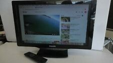 """Philips 22"""" LCD TV / Computer Monitor 22PFL4507/F7 - With  REMOTE"""