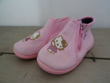 Chaussons rose HELLO KITTY à fermeture éclaire Taille 26