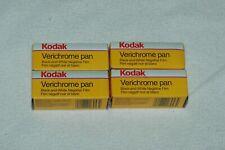 4 ROLLS OF KODAK VP-120 VERICHROME PAN FILM, REFRIGERATED SINCE NEW, EXP 1999