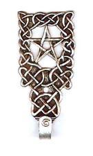 Celtic Pentacle Wall Hook - Pewter