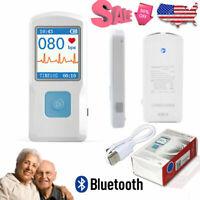 PM10 Mobiles Einkanal EKG Gerät Heim EKG-Gerät EKG-Monitor-Herzfrequenzsensor