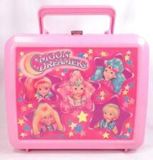 Aladdin Moon Dreamers Lunch Box Pink Plastic Hasbro 1987 No Thermos