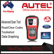Autel MaxiDiag MD802 4 system Diagnostic Scanner Engine Airbag ABS Transmission