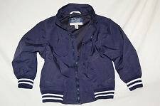 THE CHILDREN'S PLACE ZIP UP SPORT VTG BOMBER JACKET  BLUE BOYS Sz 4 XS