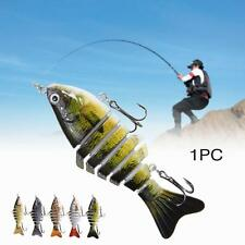 Minnow Fishing Lures Crank Bait Hooks Bass Crankbaits Tackle Sinking Popper GR