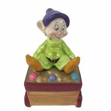 New ListingSchmid Walt Disney Snow White Dopey Music Box Whistle While You Work