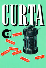 Curta Calculator - 1954 - Promotional Advertising Poster