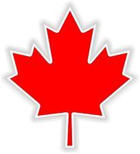 1x Canada Maple Leaf Feuille Erable Vinyl Sticker for Locker Door Laptop Tablet