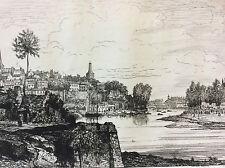 Château-Gontier Près de Saint Fiacre Saint-Rémi Mayenne 1872 A Tancrède France