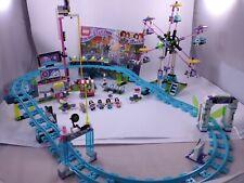 LEGO Friends Amusement Park Roller Coaster (41130) Complete no Box