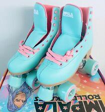 Impala Women's Vegan Quad Roller Skates-Size 7 Aqua