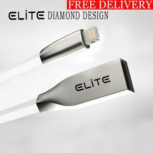 3D Zinc Alloy iPhone USB Charger Cable For iPhone X,8,7,6,5,iPad-Elite