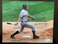Johnny Damon New York Yankees Signed 8x10 Photo JSA COA