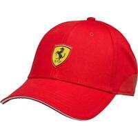 Scuderia Ferrari Team Puma Baseball Cap Red Rosso Corsa Adult NEW
