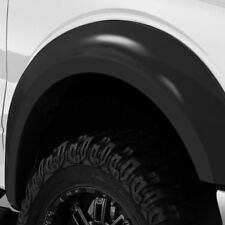 For Ford F-150 15-17 Trail Riderz Smooth Black Front & Rear Fender Flares