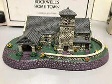 Nib 1991 Norman Rockwell's Grey Stone Church Collection Rhodes Studios 038/c