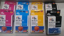 8 Ink Cartridges For Brother LC123 J470 J132 J4410 J650 J870 J6520 J245 J4710