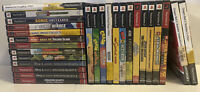 PS2 Games Pick and Choose Many Rare Titles! Clean and Tested!
