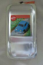 "Wilton 2001 Aluminum Car Cake Pan 3-D Cruiser 2105-2043 Automobile 13""x 7""x 3.75"