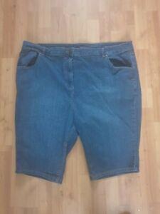 Denim shorts plus size 26