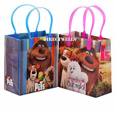 6 Pcs The Secret Life Of Pets Authentic Licensed Small Party Favor Goodie Bags