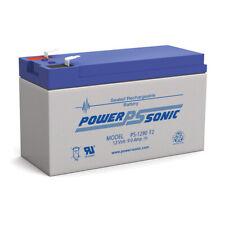 Power Sonic PS 1290 Battery 9 Amp Hour AGM SLA UPS Spotlight 12 Volt 12v