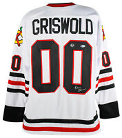 Chevy Chase Christmas Vacation Signed Clark Griswold Jersey BAS Witnessed