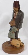"""* 12 """" Tom Clark Gnome Figure """"Shriner and Hope"""" / Edition # 34 / 1987 / Signed"""