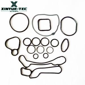 OEM NEW 15 PCS Engine Oil Cooler Gasket Seal For Chevrolet Cruze Aveo Sonic Opel