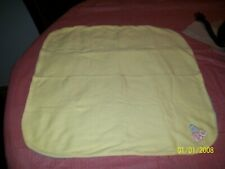 CABBAGE PATCH SOFT SCULPTURE BABY BLANKET YELLOW/GREEN SMALL