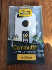 OtterBox Commuter Case for iPhone SE 5 5S White/Gray* Cover OEM Original