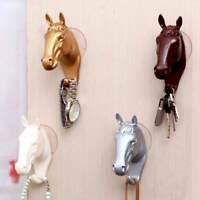 Wall Decorative Wall Hanger Coat Hanger Resin Horse Hook Modern Home Furnishing