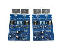 DIY Kits 2 Channels LJM NAIM NAP140 AMP CLONE KIT 2SC2922 Amplifier board