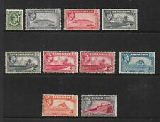 1938 Views Mixed Part Set of 10 Mint Hinged & Used as Per Scan