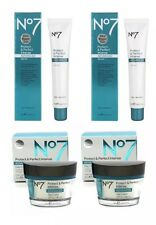 No7 Protect & Perfect Intense Advanced 50ml Serum x2 and 50ml Day Cream x2