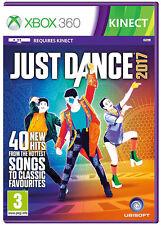 Just DANCE 2017 ~ XBOX 360 GIOCO KINECT (nuovo e sigillato)
