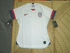 WOMENS XSMALL RED/BLUE/WHITE NIKE USA SOCCER JERSEY - NWT