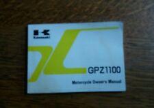 KAWASAKI  GPZ 1100 E2  OWNERS MANUAL/HANDBOOK/BOOKLET