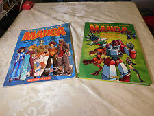 Lot of 2 Manga Books - Step-By-Step & The Art of Drawing and Creating