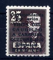 Sellos de España 1951 Visita Caudillo a Canarias 1090 ref.03