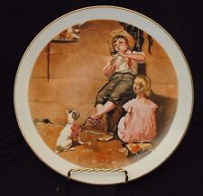 "1980 Cerami Corner Collector's Plate ""The Music Master"" by Norman Rockwell"