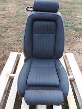 1987-1993 Mustang Convertible Front Seat Passenger Side Titanium Gray RH Seat
