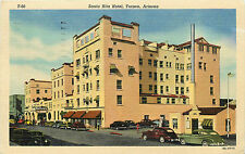 TUCSON AZ SANTA RITA HOTEL 1957 LINEN P/C